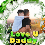 Love U Papa Photo Frame icon