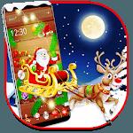 Wooden Merry Christmas theme icon