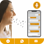 Write Message by Voice: Write SMS by voice icon