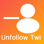 Unfollow Users for  Twitter icon