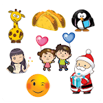 ❤️Love, 😊 Emoji & 🎄Christmas Stickers (10 packs) icon