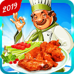 Cooking Chicken Wings- Cooking Diary- Star Chef icon