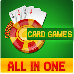 Offline Card Games - Solitaire | Gin Rummy | Poker icon