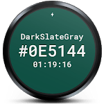 Hex Color Watch Face for pc icon