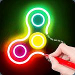 Draw Finger Spinner APK icon