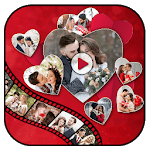 Valentine Day Video Maker : Valentine Slideshow icon
