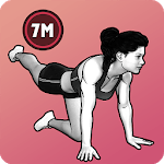 7 Minute Women Workout - Weight Loss Fitness APK icon