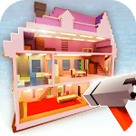 Dollhouse Builder Craft: Doll House Building Games for pc icon