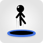 Tramp Land - Stickman Jump Arcade icon