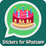 WAStickerApp - Birthday Stickers for Whatsapp icon