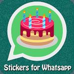 WAStickerApp - Birthday Stickers for Whatsapp icon