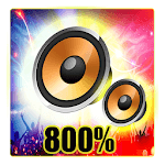 800 super max volume booster (sound booster)2019 icon