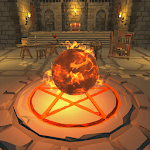 Idle Magic Clicker - A Wizard Tap Game (No IAP) APK icon