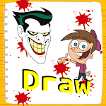 Learn to Draw cartoon characters icon