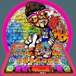 Posh Graffiti Style Keyboard Theme icon
