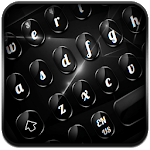 Cool Glossy Black Keyboard for pc icon