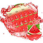 Watermelon keyboard Theme icon