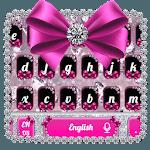 Diamond Bowknot Glitter Keyboard Theme APK icon