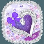 Glitter Diamond Heart Keyboard for pc icon