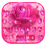 Pink Rose keyboard icon
