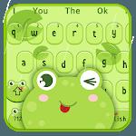 Cute Cartoon Frog Keyboard Theme icon