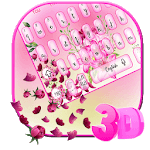 3D Bright Colorful Flowers Keyboard icon