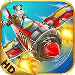 Panda Commander - Air Fighter : Airplane Shooting APK icon