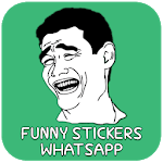 Funny Stickers for Whatsapp icon