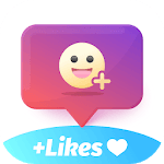 Booster to get followers easy - Layout for Likes icon