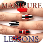 Nail manicure lessons for pc icon