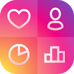Likes + Analytics for Instagram icon
