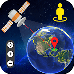 Live Earth Map & Satellite View, GPS Tracking icon