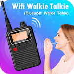 Wifi Walkie Talkie - Bluetooth Walkie Talkie APK icon