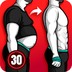 Lose Weight App for Men - Weight Loss in 30 Days icon