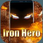 Iron Hero Live Wallpaper for Free icon