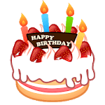 🎈🎂 WAStickerApps Happy Birthday APK icon