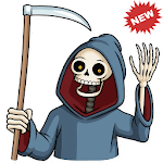 💀 WAStickerApps Horror and Fear icon