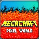 Megacraft : Minebuild Pixel World icon