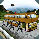 US Army Bus Coach-Army Transport Simulator icon