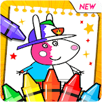 Peppo Pig Coloring Book icon