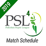 PSL 4 - Match Schedule icon