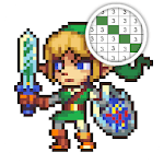 Retro Games Color By Number icon