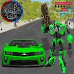 Robot War Car Transform: Crime City Robot Games icon