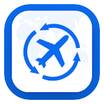 Last Minute Flight Booking App icon