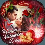 Valentine Day Photo Frame 2019 icon