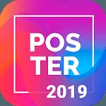 Poster Maker Flyer Maker 2019 free Ads Page Design icon