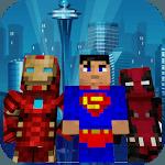 Superhero skins for Minecraft 3D icon