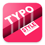 Typo Style - Add text on Pictures, cool fonts for pc icon