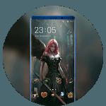 Theme for dark angle wallpaper icon