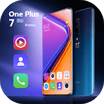 Colorful theme OnePlus 7 Pro launcher icon